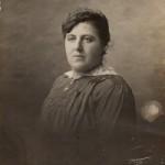Clémence Romain (1878-1953), épouse d'Emile Briquet (1870-1957) et grand-mère maternelle de Jacques Druenne